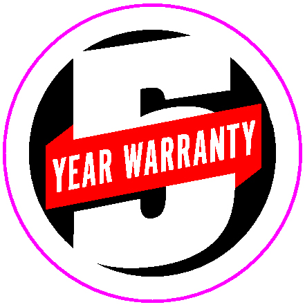 Casio 5 Years Warranty