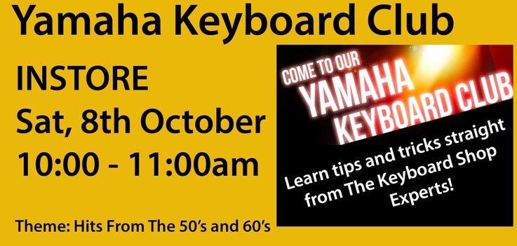 Newsletter from The Keyboard Shop
